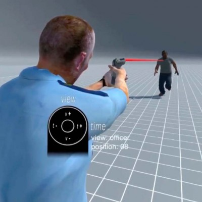 Kineticorp_police_shooting_demo